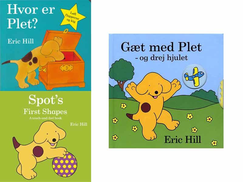 Plet - Eric Hill Børnebog