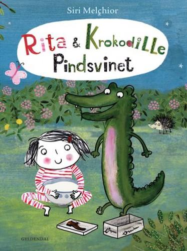 Rita og Krokodille - Siri Melchior - Børnebøger