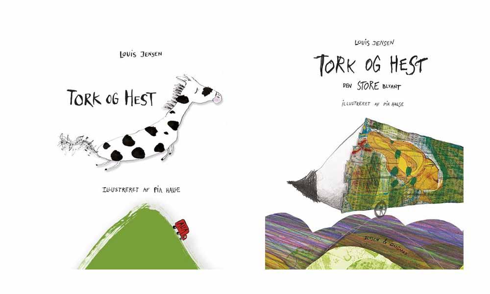 Tork og Hest - børnebøger