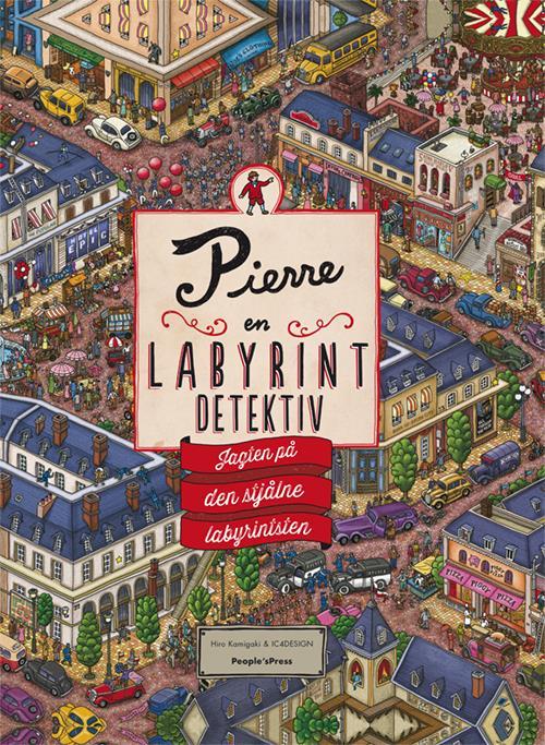 Pierre - en labyrintdetektiv - børnebøger