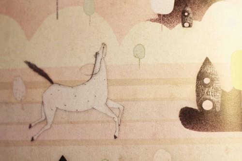 Børnebog - Louis Jensen - Tork og Hest - Den porcelæne danserinde2