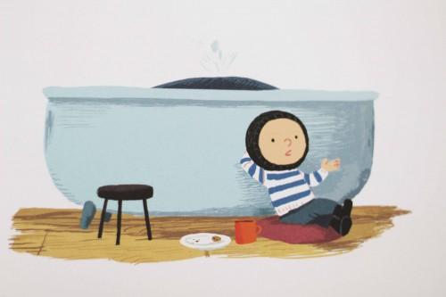 Børnebog- Stormhvalen - Benji Davies
