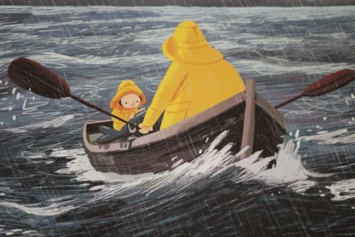Børnebog: Stormhvalen - Benji Davies