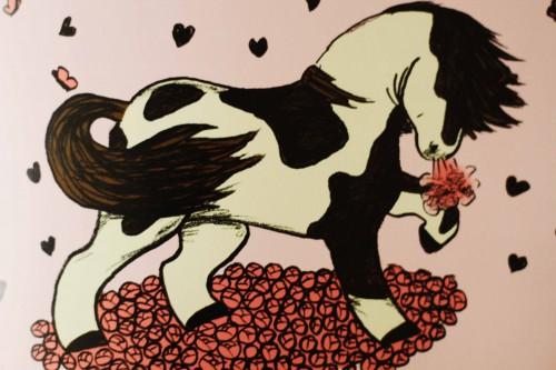 Jeg elsker dig hest