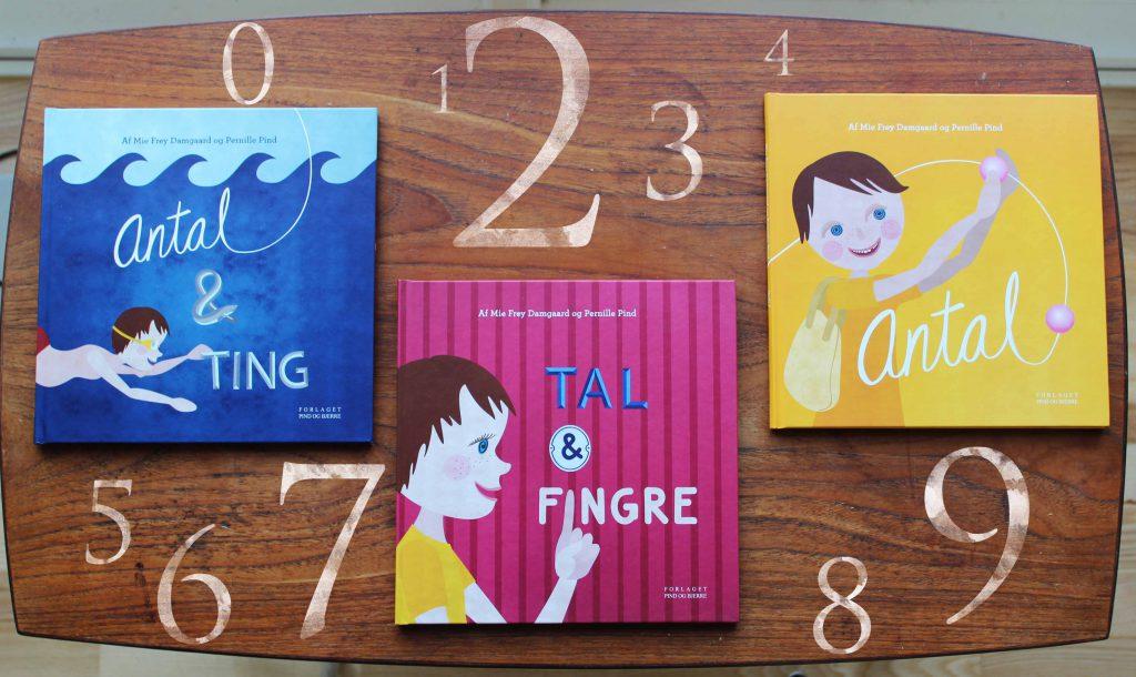 Bøger om tal - Mie Frey Damgaard og Pernille PInd - Børnebøger