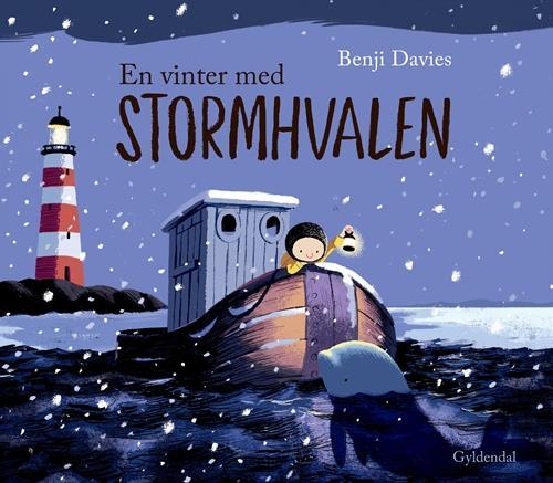 En vinter med stormhvalen - Benji Davies - Børnebøger