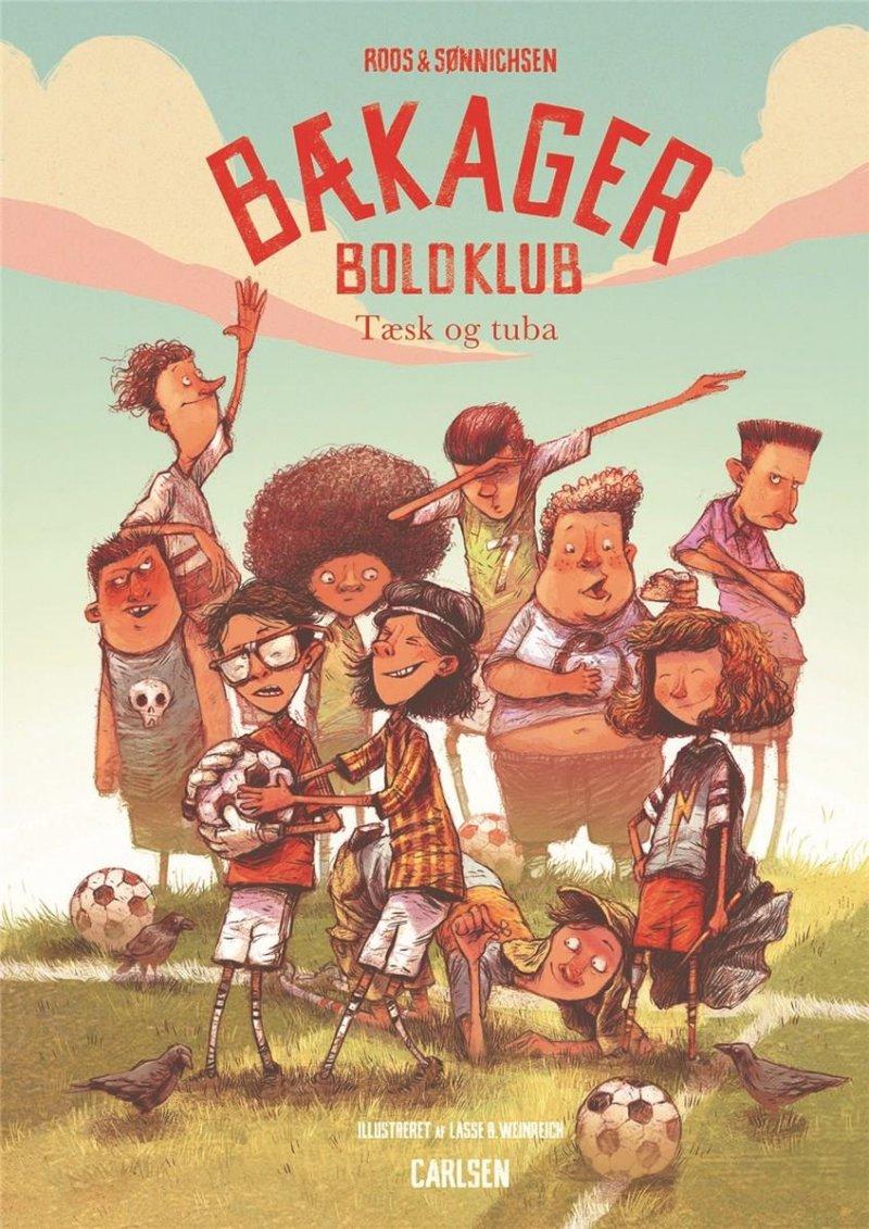 baekager-boldklub-1-taesk-og-tuba - Roos og Sønnichsen - Børnebøger