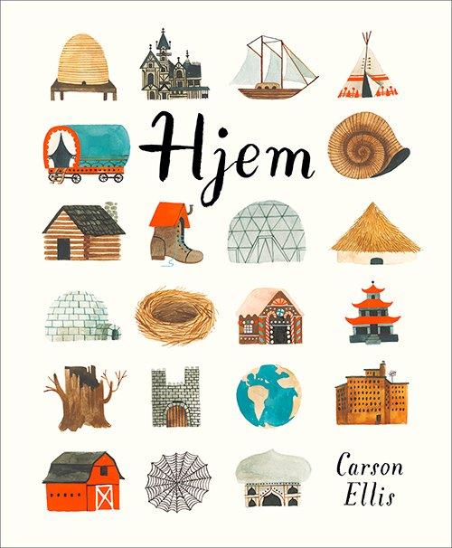 hjem_Carson Ellis - børnebøger