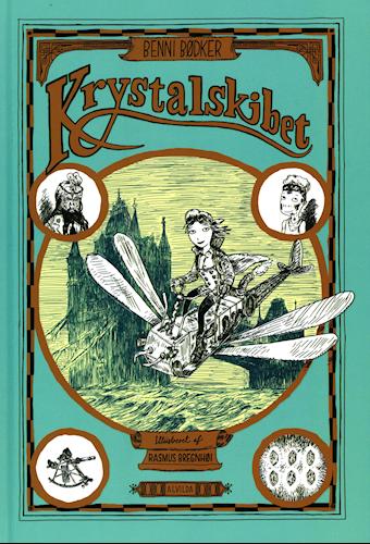 Krystalskibet - Benni Bødker - Børnebøger